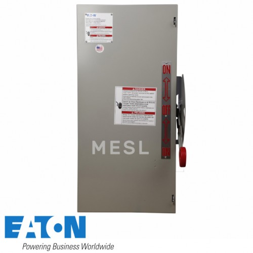 EATON HEAVY DUTY DOUBLE-THROW NON-FUSED SAFETY SWITCH