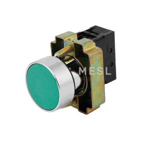 Push Button Switch Rubber Green
