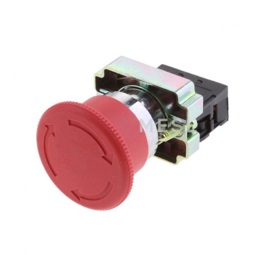 Push Button Switch Em/Red