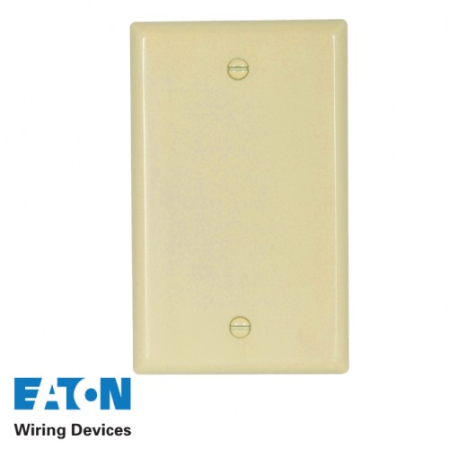 2X4 IVORY PVC BLANK COVER