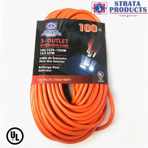 100 FEET EXTENSION CORD