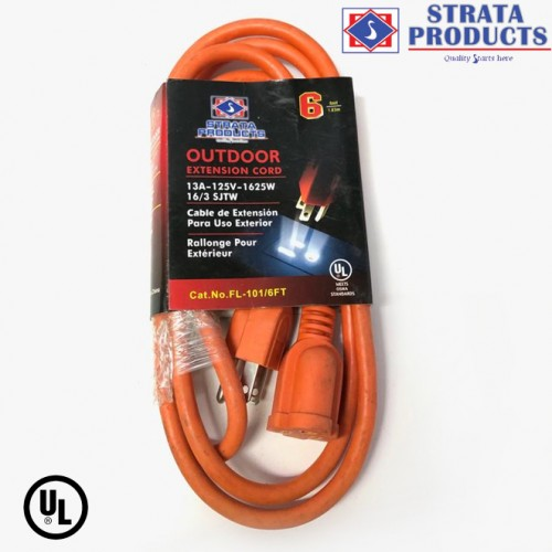6 FEET EXTENSION CORD