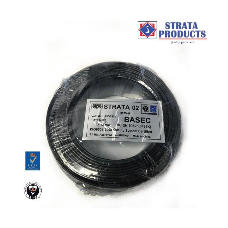 STRATA SINGLE SINGLE CABLE 1X1.5mm2