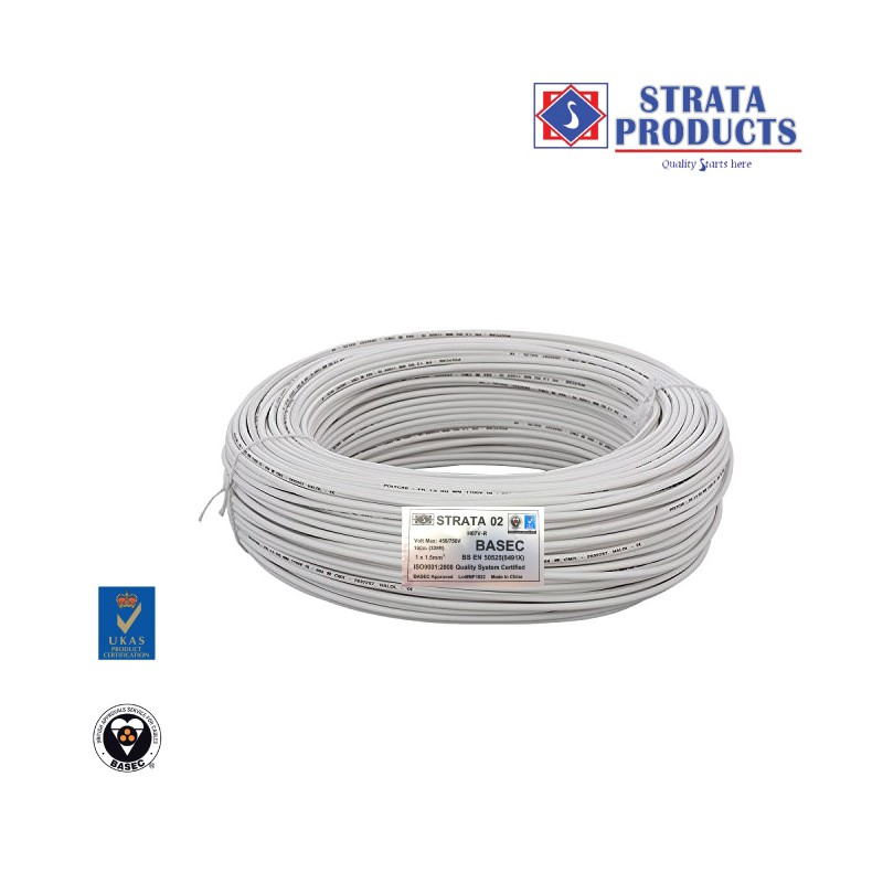 STRATA SINGLE SINGLE CABLE 1X1.5mm2