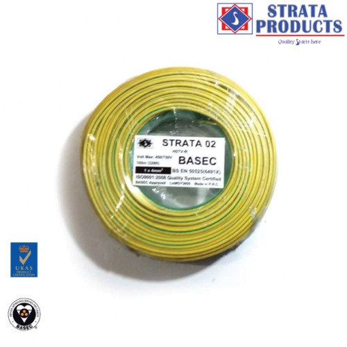 STRATA SINGLE SINGLE CABLE 1X4mm2