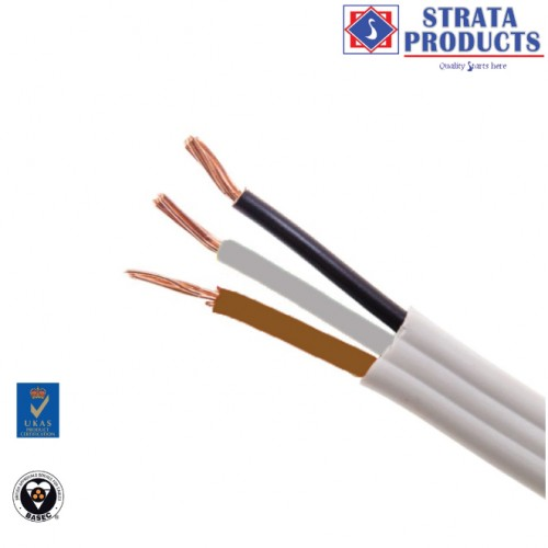 3 CORE FLAT CABLE 16mm