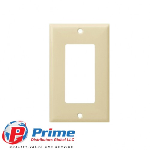 DECORATOR/GFCI PLASTIC WALLPLATES