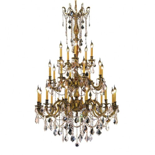 Chandelier with Clear Crystal