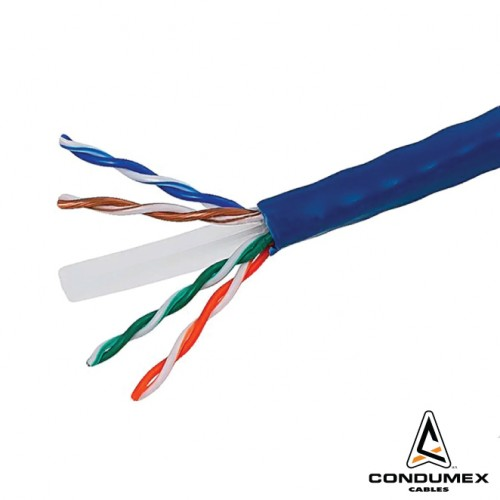 CAT 6 UTP CMR 4 PAIR 24AWG CABLE