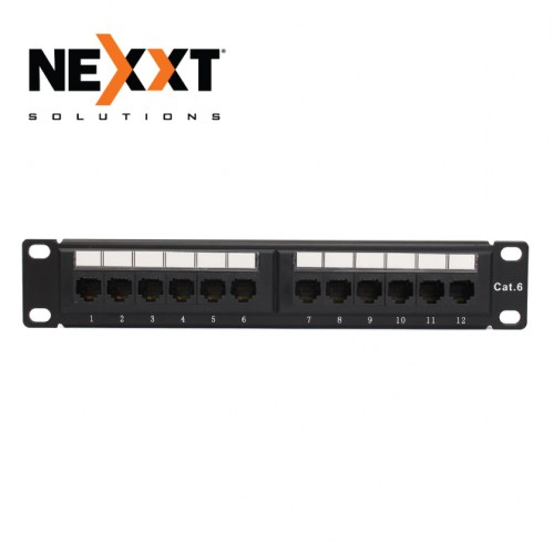 CAT6 UTP 12 PORT RJ45 PATCH PANEL