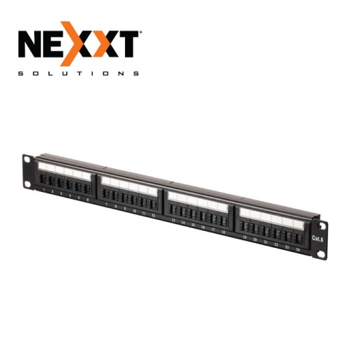 CAT6 UTP 24 PORT RJ45 PATCH PANEL