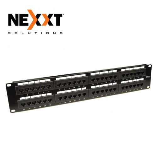 CAT6 UTP 48 PORT RJ45 PATCH PANEL