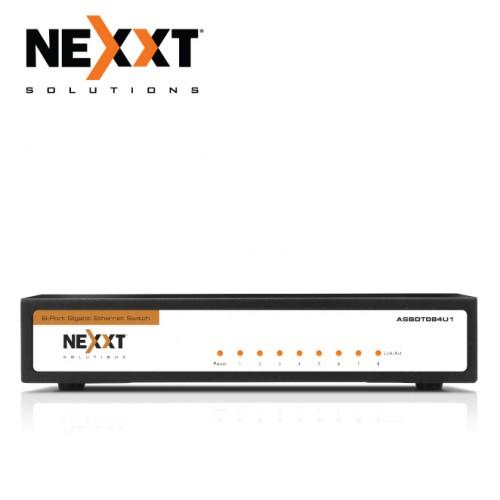 NEXXT AXIS800 GIGABIT SWITCH 8 PORT 10/100/1000MBPS