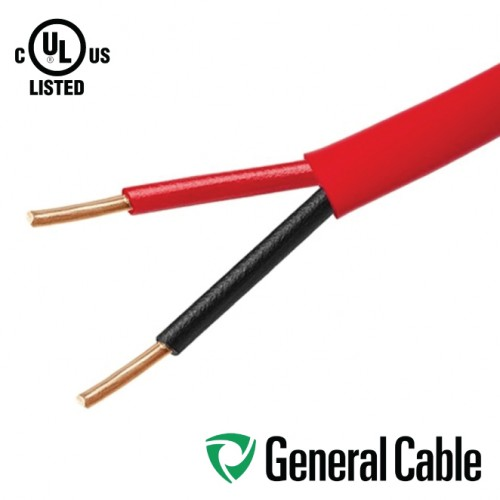 2 CORE 18AWG UNSHEILDED