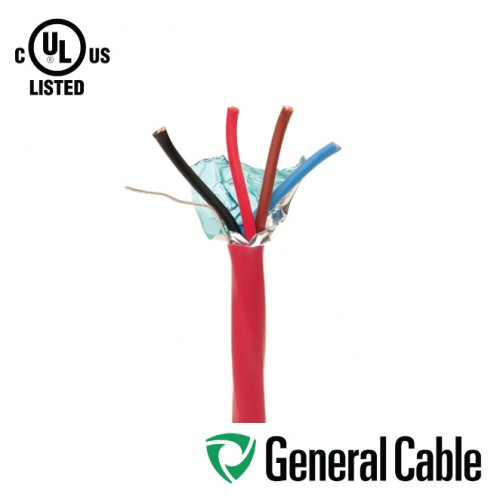 4 CORE 18AWG SHIELDED