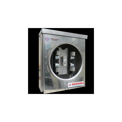 Stainless steel meter base