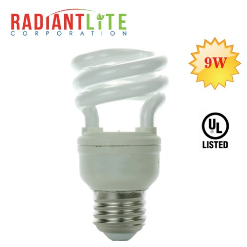 9W Spiral CFL