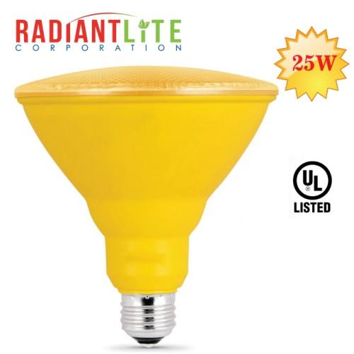 25W PAR38 CFL YELLOW