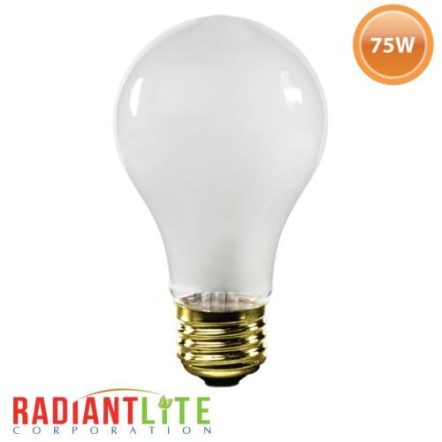 75W - A19 - Rough Service Bulb
