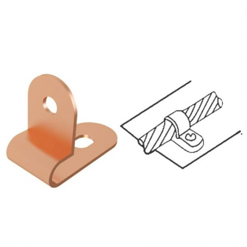 One Hole Cable Clip 12mm2