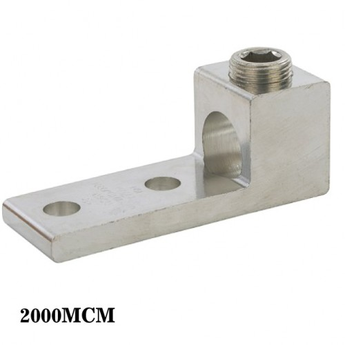 One Conductor - Two Hole Mount 2000MCM