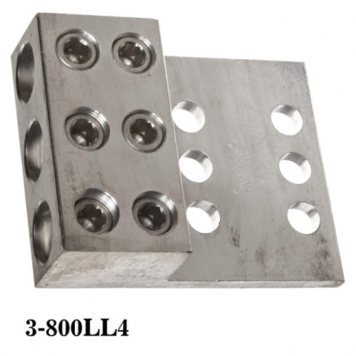 Three Conductor - Two & Four Hole Mount 3-800LL4