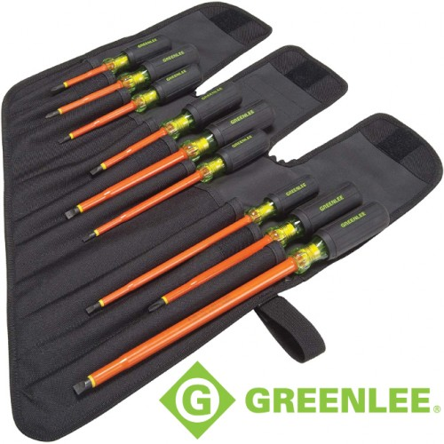 9PC INSULATED SCREWDRIVER
