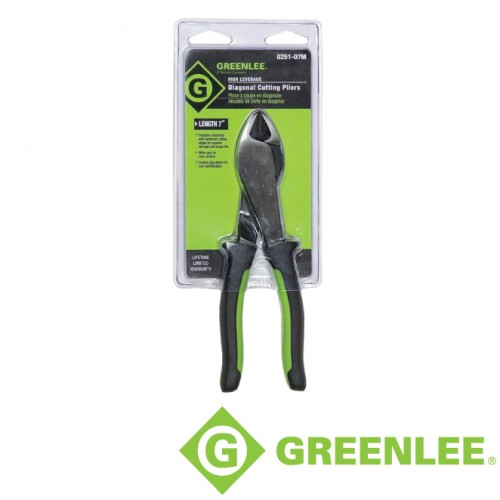 "7"" MOLDED GRIP DIAGONAL PLIERS"