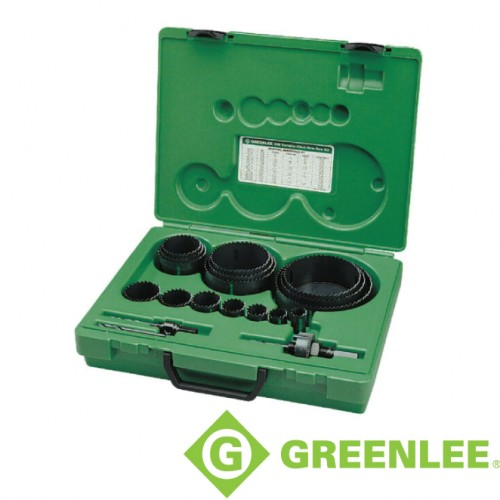 INDUSTRIAL HOLE SAW KIT