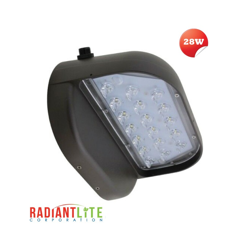 LED HALF OVAL WALL PACK 28W