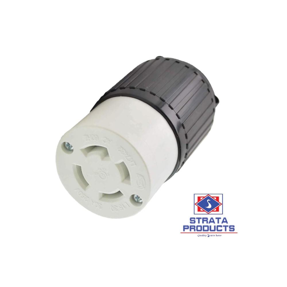 4p 30a 250v Locking Cod Connector Nema L15-30c