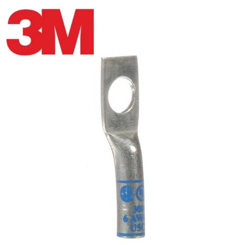 Scotchlok™ Copper One Hole Lug, 30016, up to 35 kV, 6 AWG, blue
