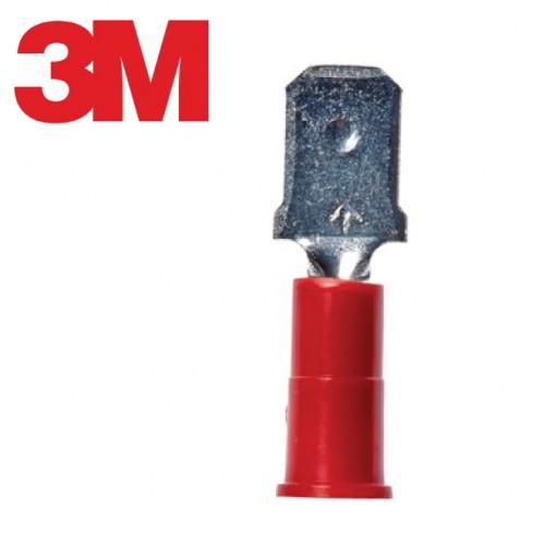 Scotchlok™ Male Disconnect, Vinyl Insulated Butted Seam MVU18-250DMK