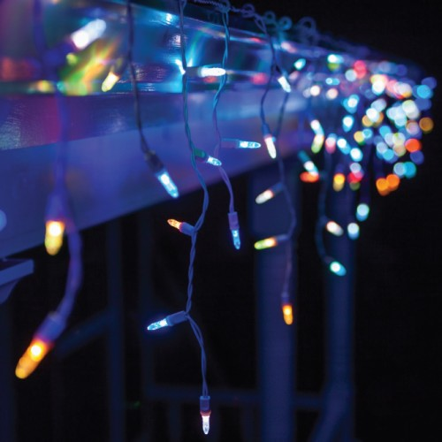 M5 LED ICICLE LIGHT MULTI COLOR