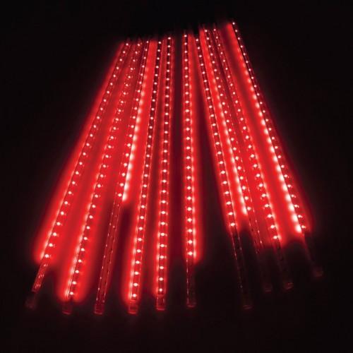 10 TUBE MINI METEOR SHOWER LIGHT RED COLOR