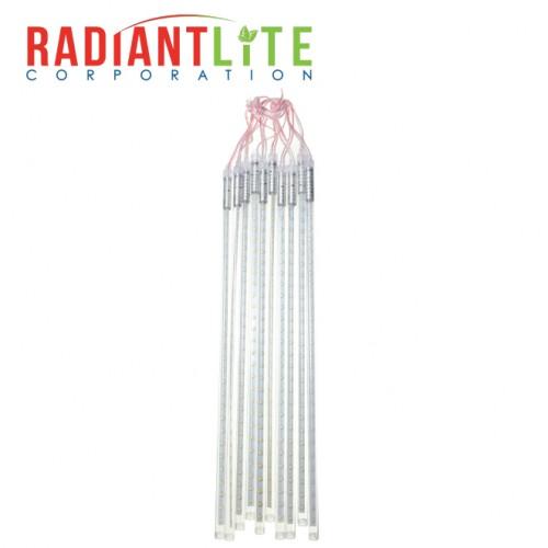 10 TUBE X 50CM  METEOR SHOWER LIGHT RED