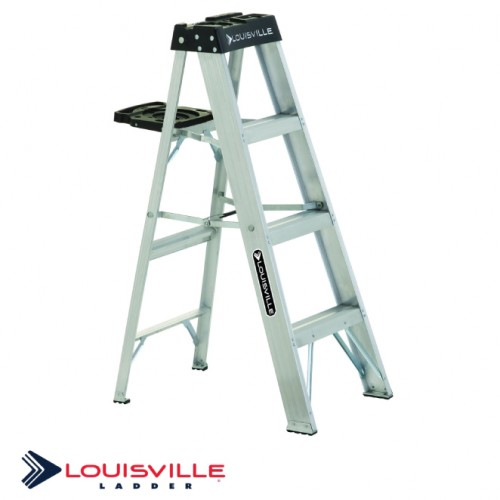 4-FOOT ALUMINUM STEP LADDER