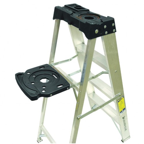 LADDER 5-FOOT ALUMINUM STEP LADDER