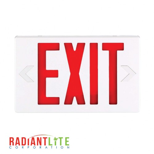 LED EXIT SIGN RED