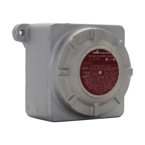 CROUSE-HINDS SERIES GUB JUNCTION BOX