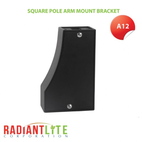 SQUARE POLE ARM MOUNT BRACKET