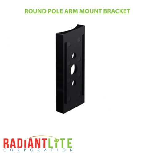 ROUND POLE ARM MOUNT BRACKET