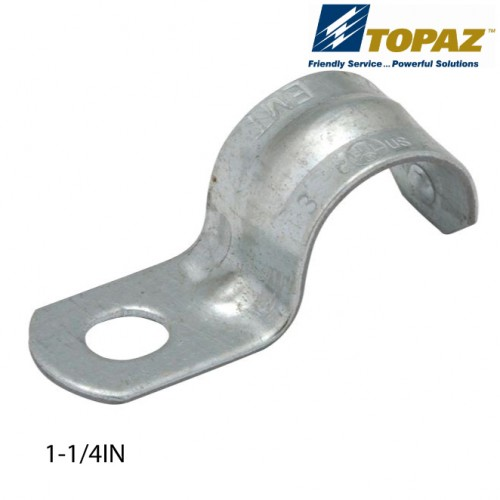 "1-1/4"" One Hole Snap On Type Strap"