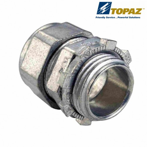 "1-1/2"" Zinc Die Cast Compression Type Connector"