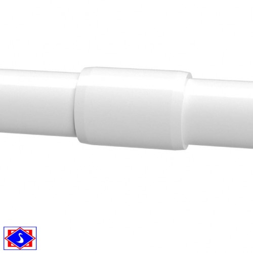 "1/2"" (20mm) PVC ELECTRICAL COUPLING"