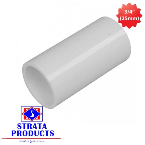 "3/4"" (25mm) PVC ELECTRICAL COUPLING"