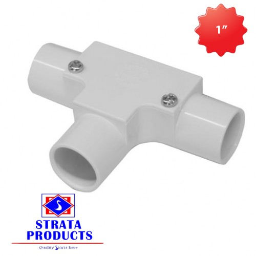 """1"""" PVC ELECTRICAL INSPECTION TEE"""