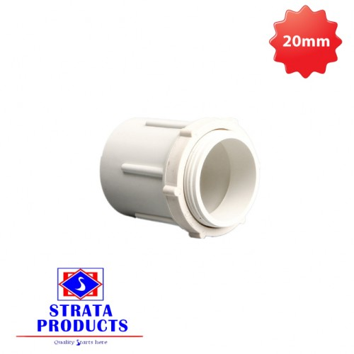 "1/2"" PVC ELECTRICAL MALE ADAPTOR"