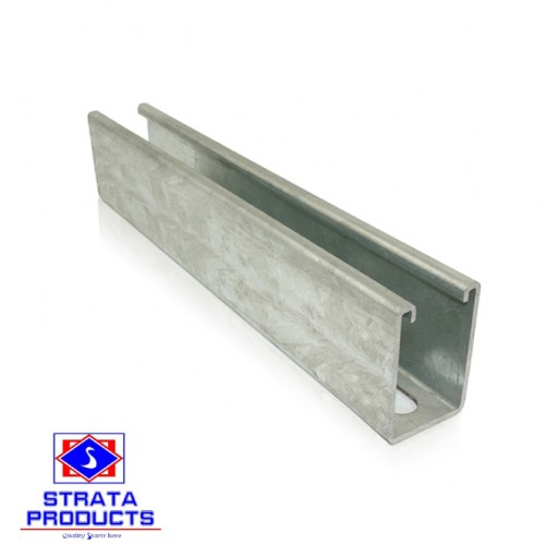Strut Channel, Hot Dip Galvanized 41x41x2.0mm