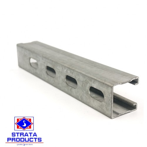 Strut Channel, Pregalvanized 41x41x2.5mm